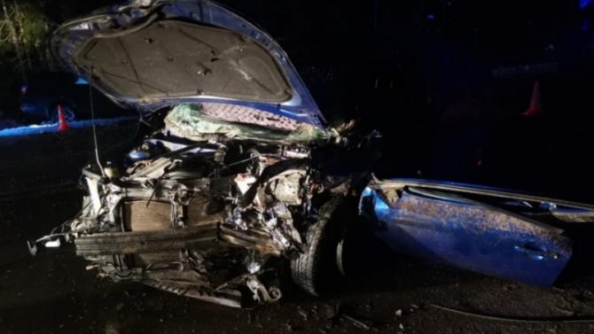 Водитель «Лады» погиб в ДТП в Ленобласти