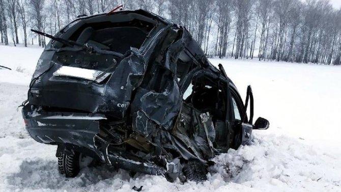 Женщина погибла в ДТП в Мордовии