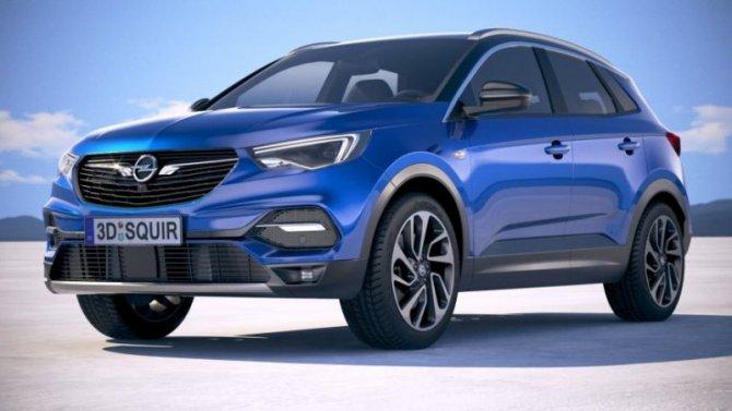 Opel Grandland готовится крестайлингу