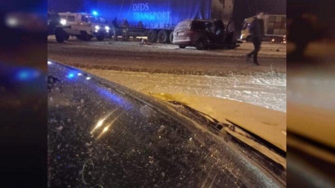 Авария вСмоленской области унесла жизнь 35-летнего мужчины