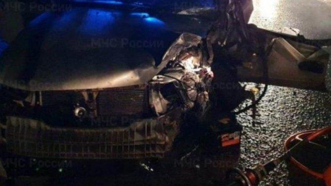 Ваварии под Калугой пострадали 3 человека