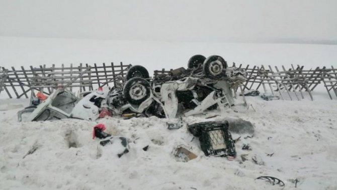 ВКалужской области при столкновении «скорой» сгрузовиком погибли две пациентки