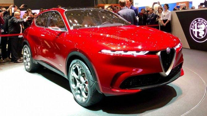 Alfa-Romeo готовит кпремьере новый кроссовер