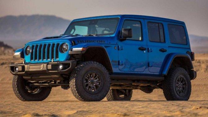 Объявлены цены на8-цилиндровый Jeep Wrangler Rubicon