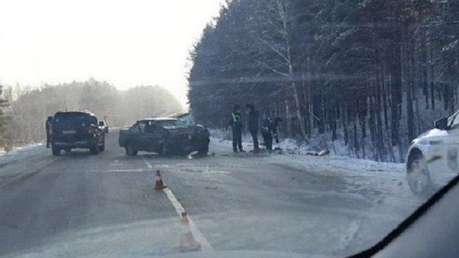 Три человека погибли в ДТП под Иркутском