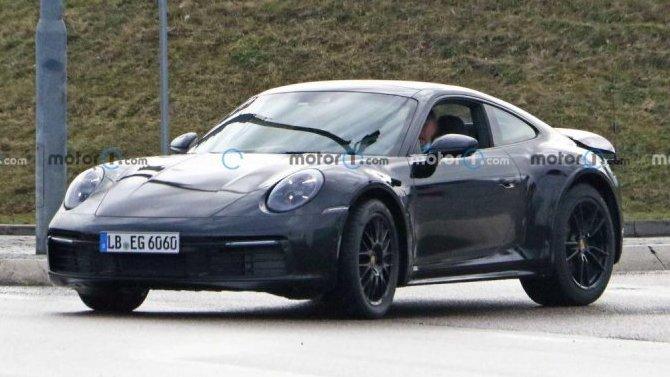 ВГермании замечен очень необычный Porsche 911
