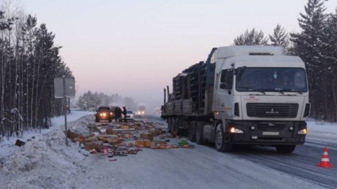ВБратском районе погиб водитель грузовика
