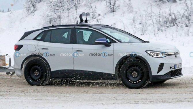 Замечена новая модификация электромобиля VolkswagenID.4