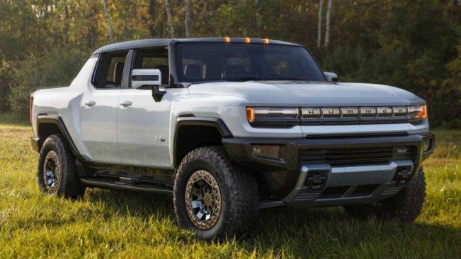 Первый серийный GMC HummerEV продадут саукциона