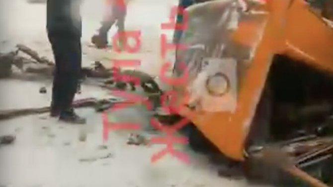 Неподалеку отдеревни Грумант массовое ДТП, пострадали 2 человека
