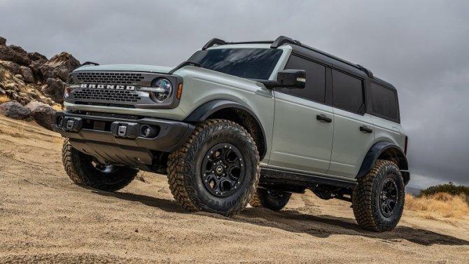 Лизинг Ford Bronco обойдётся дешевле, чем Ford Bronco Sport