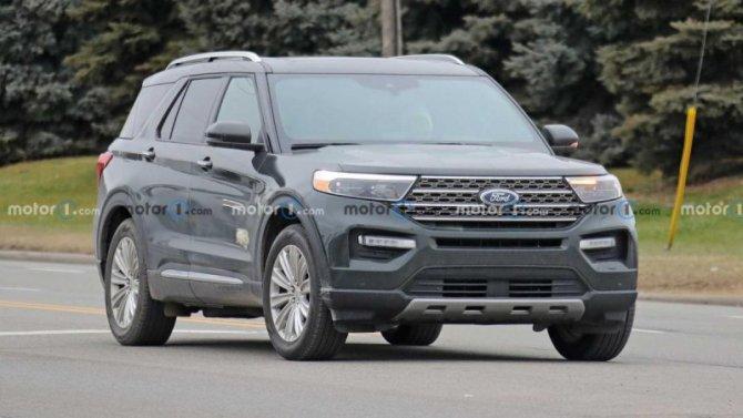Кроссовер Ford Explorer получил новое исполнение