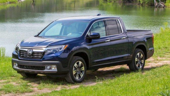 Обнародованы цены наобновлённый пикап Honda Ridgeline