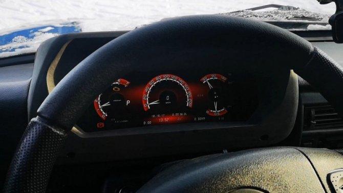 Lada Niva Legend получит цифровую «приборку»