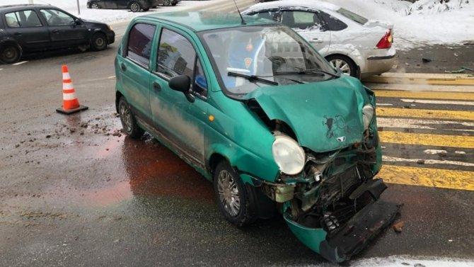 В ДТП в Твери пострадал 8-летний ребенок