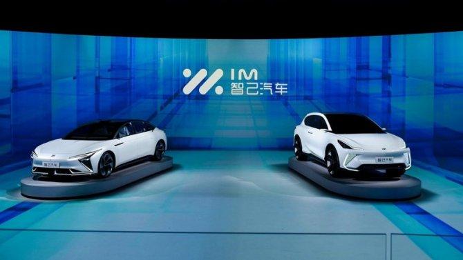 Представлены первые электромобили Alibaba