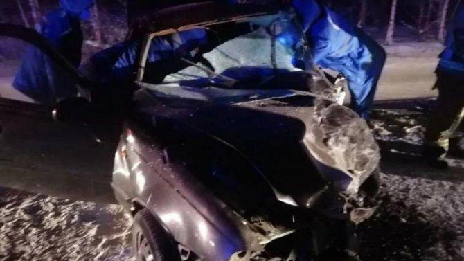 Два человека пострадали в ДТП в Братском районе