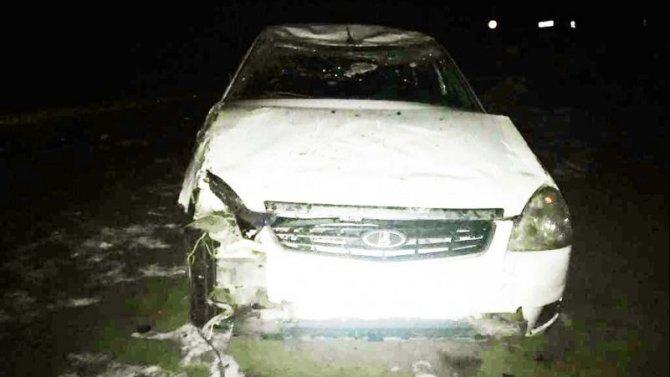 Девушка пострадала в ДТП под Астраханью