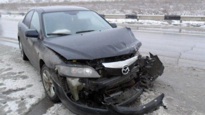 ВСмоленской области автоледи сбила пешехода, иостановить еесмогла только опора ЛЭП