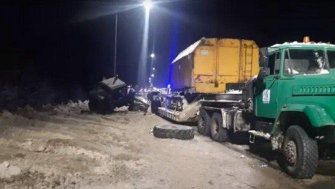 Погиб водитель трактора вовремя уборки снега