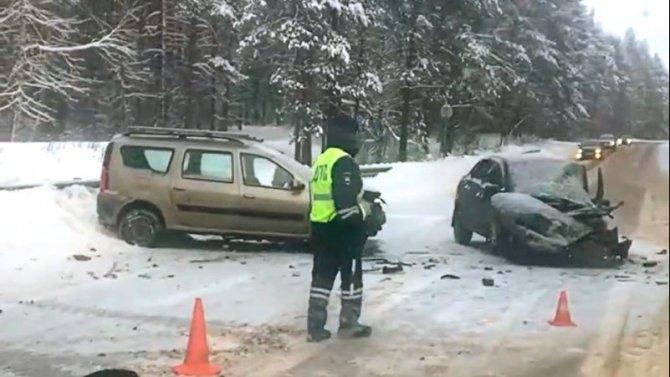 В ДТП в Заволжском районе Ярославля погиб человек