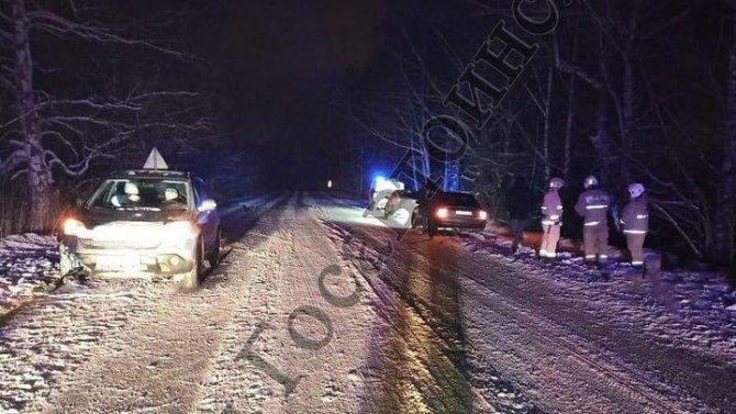 В Тульской области автомобиль насмерть переехал лежащего мужчину
