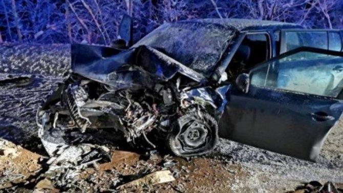 При столкновении двух иномарок вКотласском районе, женщина-водитель погибла