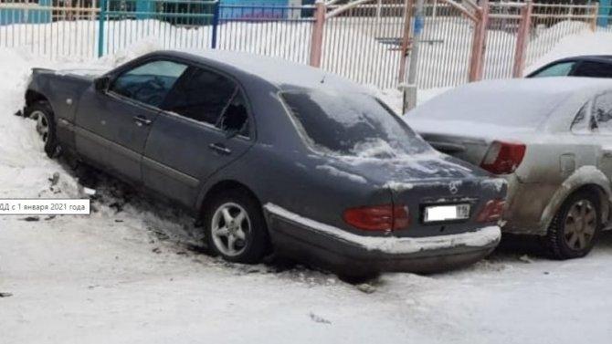 Водителю «Мерседеса», протаранившему 6 машин, ничего за это не будет