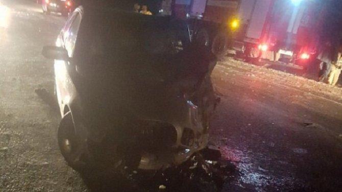 В ДТП в Бурятии один человек погиб, шестеро пострадали