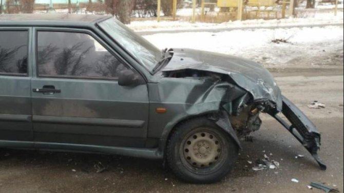 Женщина и ребенок пострадали в ДТП в Воронеже