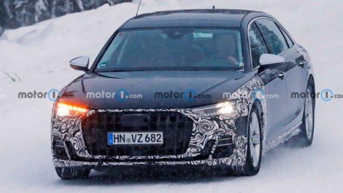 Начались испытания лимузина Audi-Horch