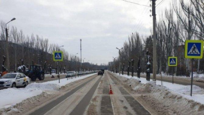 До конца «зебры» пенсионерка в Волжском так и не дошла