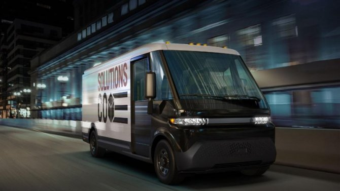 ВGeneral Motors создан новый электрогрузовик