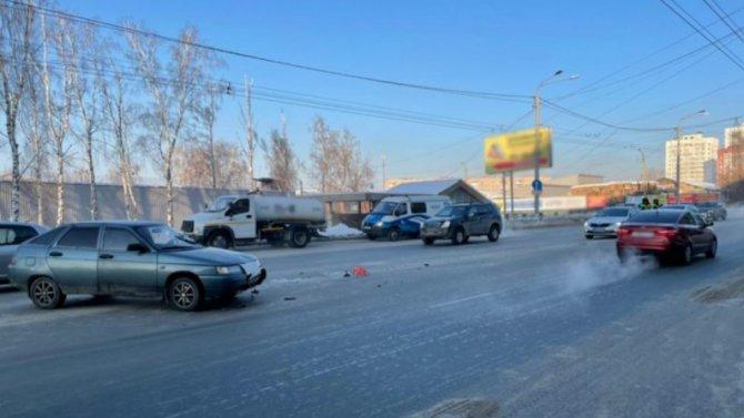 После аварии вТомске одна изпострадавших скончалась