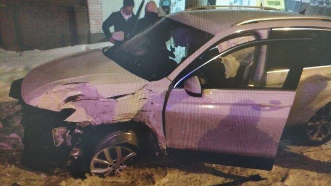 Ребенок пострадал в ДТП по вине пьяного водителя в Щекине