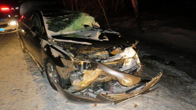 В ДТП в Хакасии погиб человек