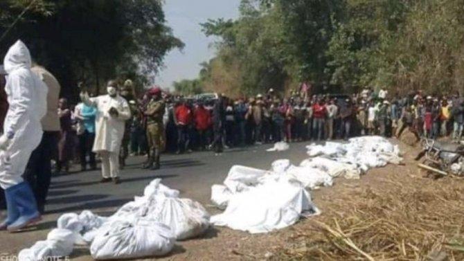 Более полусотни человек погибли в ДТП в Камеруне