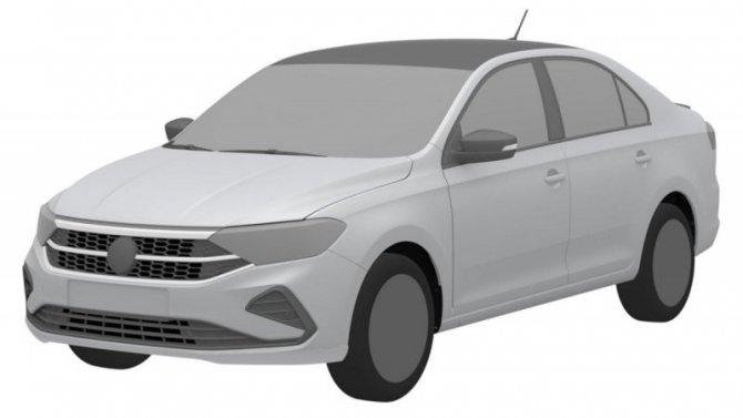 ВРоссии запатентован Volkswagen Polo Sport