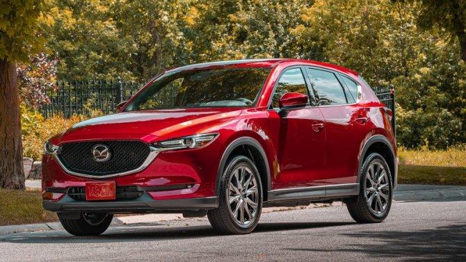 Обновлена европейская версия Mazda CX-5