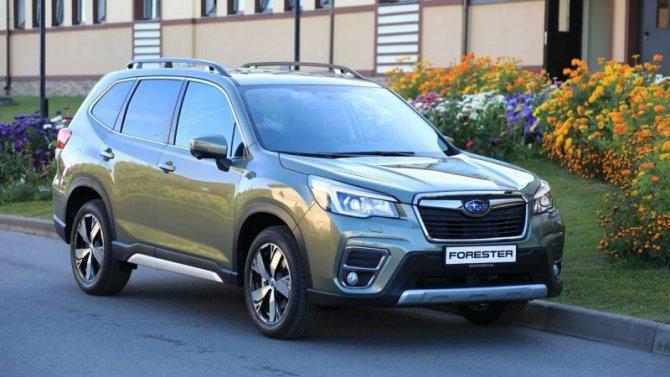Снизился объём продаж автомобилей Subaru