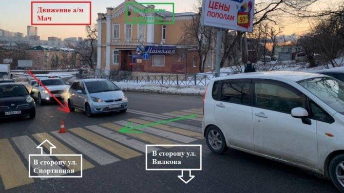 ВоВладивостоке Nissan March наехал на6-летнего ребенка