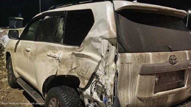 При столкновении фуры сджипом вГрязовецком районе пострадали 3 ребенка