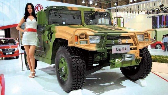 Очередной военный автомобиль получил гражданскую версию