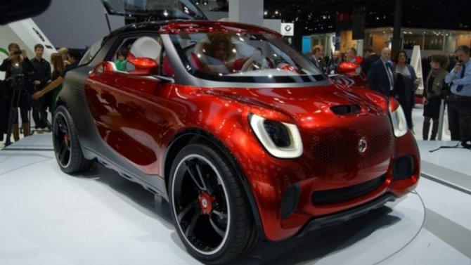 Микроавтомобили Smart возродятся вКитае