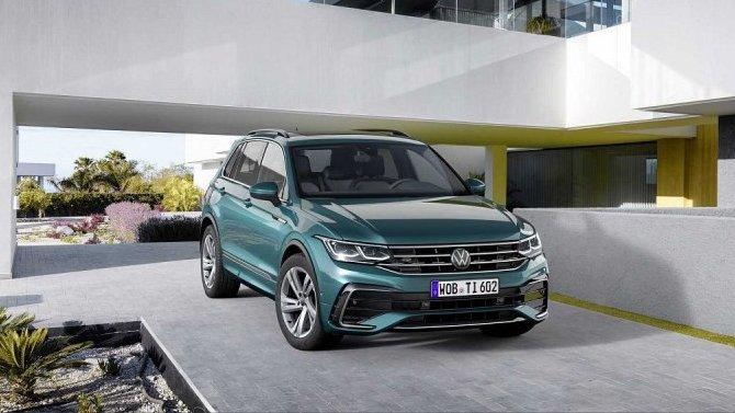 ВРоссии начались продажи новой модификации Volkswagen Tiguan