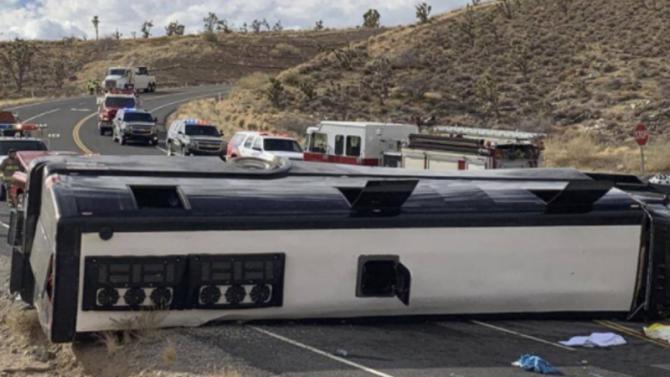 Более 30 человек пострадали в ДТП с автобусом в США
