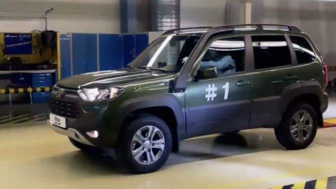 Названа стоимость топовой комплектации Lada Niva Travel