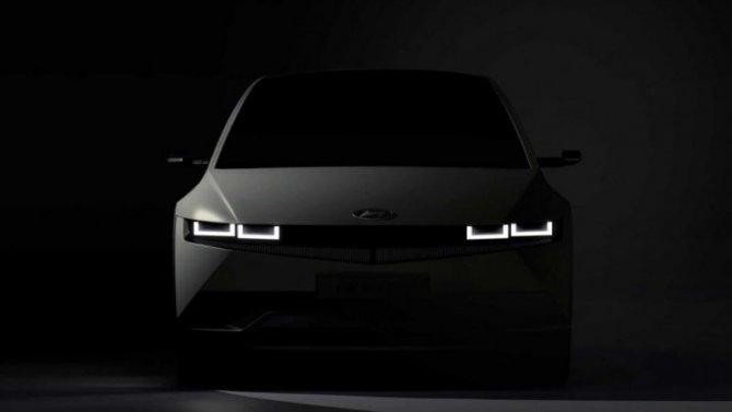 Опубликованы новые изображения электрокроссовера Hyundai Ioniq 5
