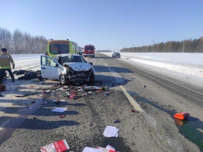 Четыре человека погибли в ДТП в Татарстане (1)