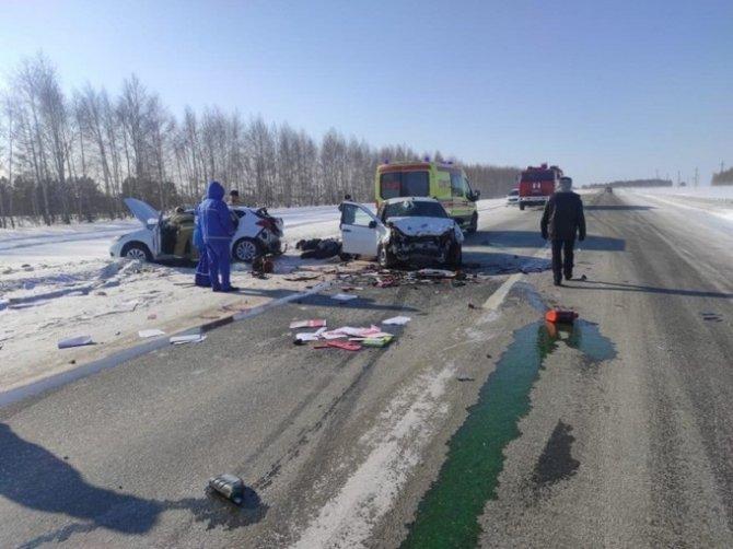 Четыре человека погибли в ДТП в Татарстане (2)